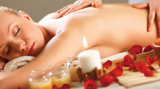Parcijalna masaža leđa!