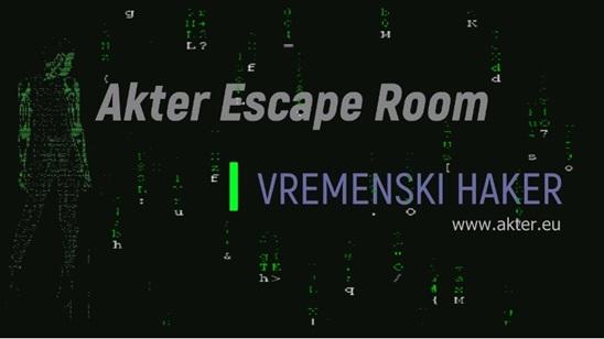 Escape room Akter - Vremenski haker!