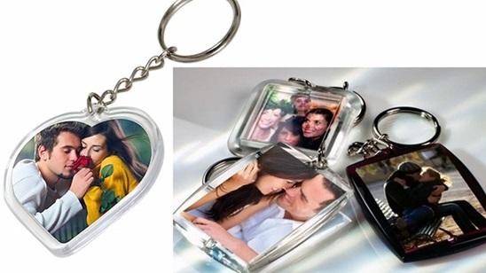 Dva priveska za ključeve ili foto kugla sa dve fotografije!