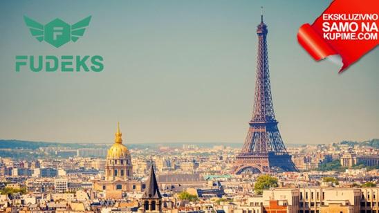 Autobuska karta za Pariz agencije Fudeks!