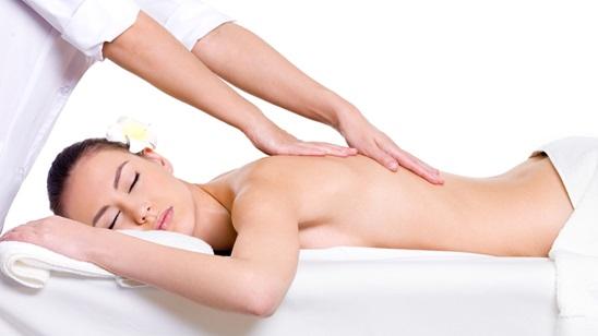 Terapeutska masaža leđa!