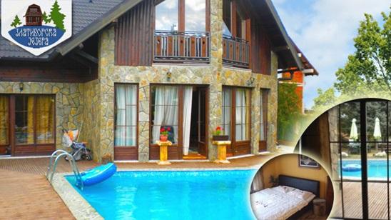 Zlatibor: Pun pansion u vili Zlatiborska jezera u julu i avgustu!