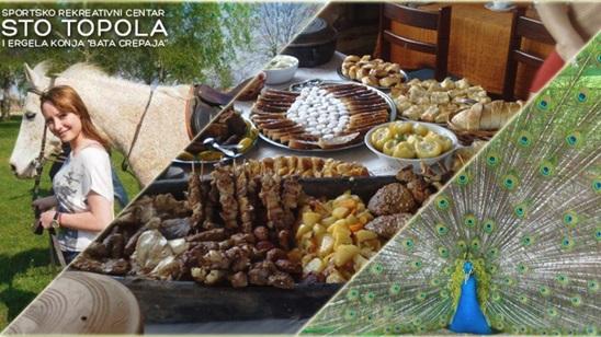 Banatski ručak u restoranu Sto Topola na Ergeli Bata Crepaja!