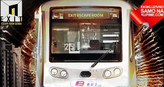 Samo u toku juna VOZ Escape room, najrealniji escape room u Beogradu!