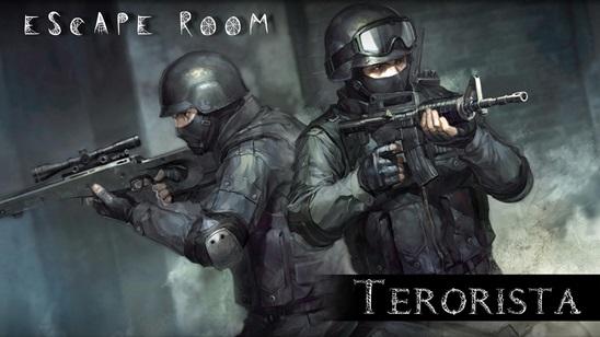 Escape room Terorista!