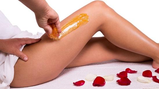 Depilacija nogu i prepona šećernom pastom!