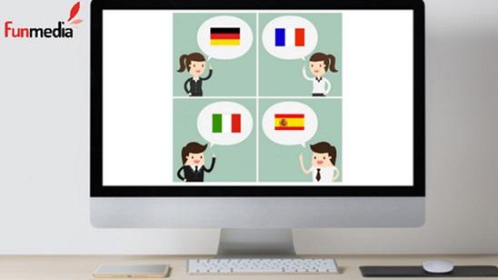 Online kursevi francuskog, nemačkog, italijanskog ili španskog jezika!
