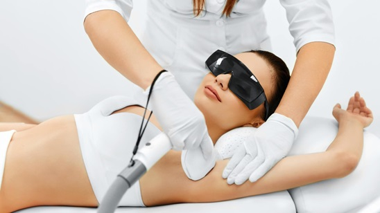 SHRtrajna epilacija celog tela u salonu Natalija Cosmetics!