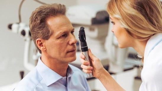 Klinički pregled oftalmologa!