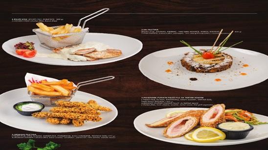 Dve porcije piletine po izboru na splavu Viva!