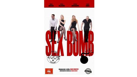 Pozorište Slavija: Predstava Sex Bomb 18.10.!