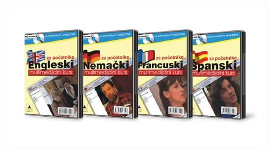 Multimedijalni početni kurs jezika po izboru!