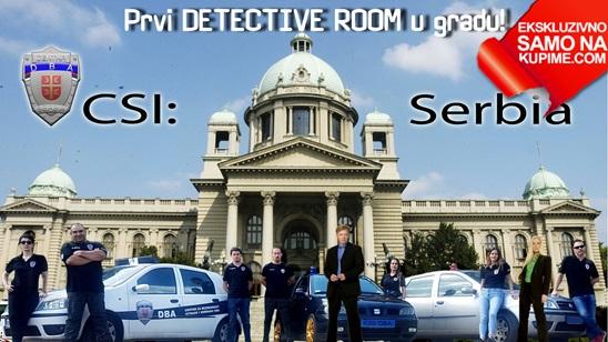 Escape room CSI: Serbia!