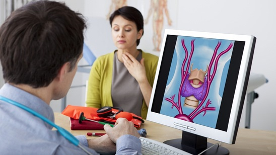 Pregled endokrinologa i ultrazvučni pregled štitne žlezde!