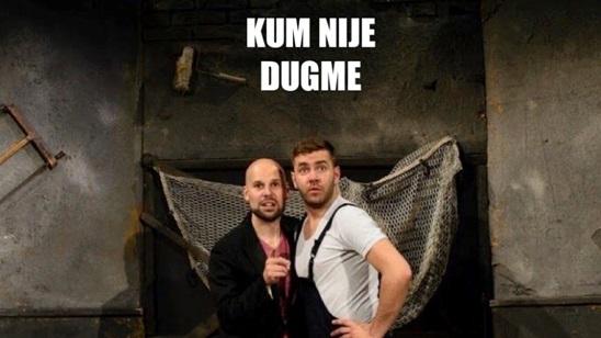 Božidarac: Predstava Kum nije dugme 22.07.!